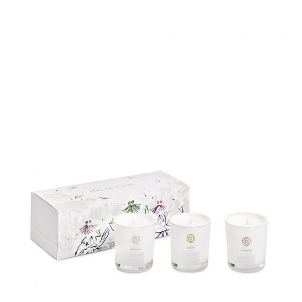 Malée Natural Science - Limited Edition Votice Trio Collection Candles