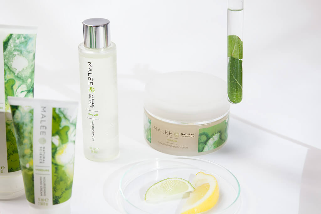 Malée Natural Science Skincare Range