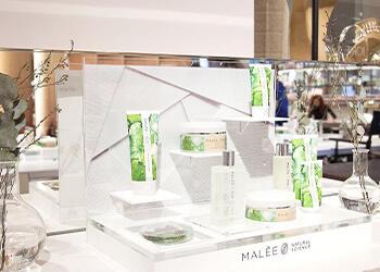 Malée Natural Science Retailer Display